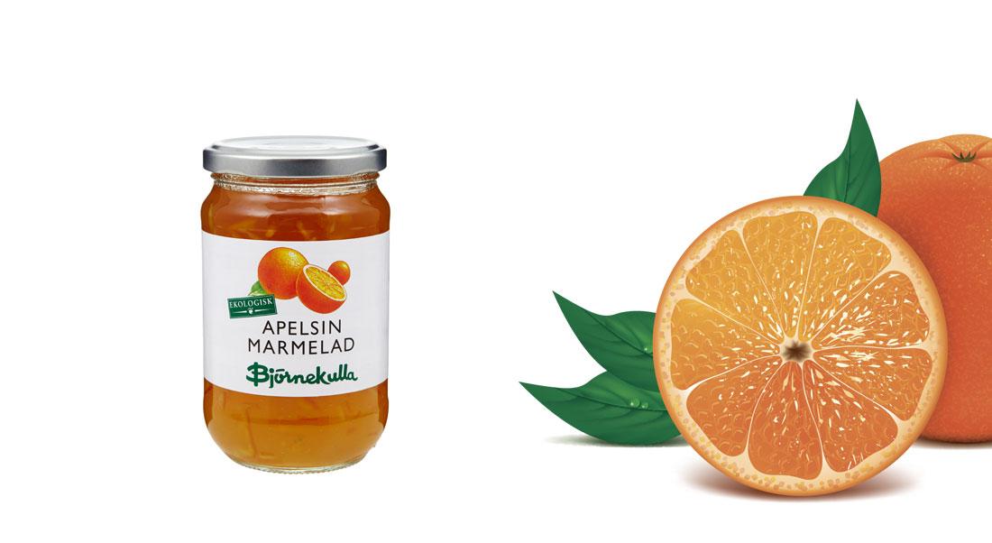 Apelsinmarmelad EKO 425g
