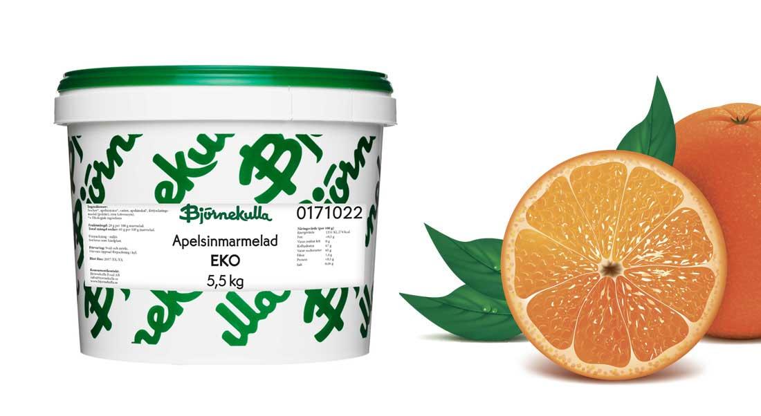 Apelsinmarmelad Eko 5,5 kg