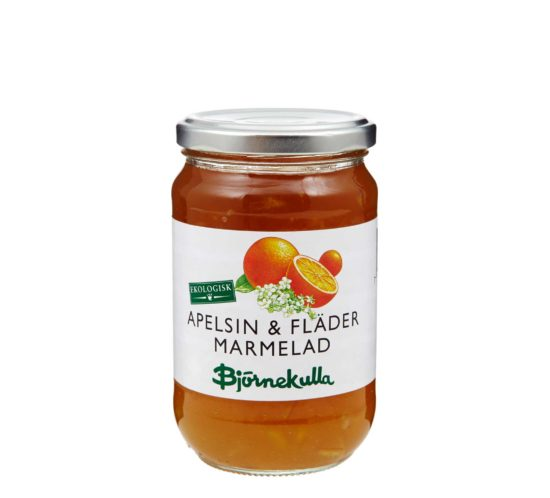 Apelsin & Fläder Marmelad Eko
